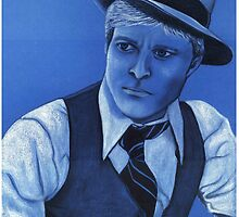 Robert Redford celebrity portrait 124 views by Margaret Sanderson