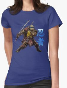 Blue Leader Womens Fitted T-Shirt