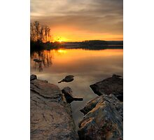 Sunset on the Lake Photographic Print