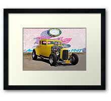 1932 Ford 'American Graffiti' Coupe Framed Print