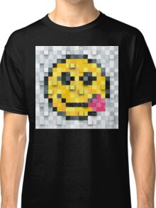 Pixel Smiley 3 Classic T-Shirt