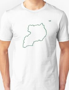 "Uganda ""Citizen of the Earth"" large T-Shirt"
