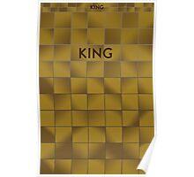 KING Subway Station Poster