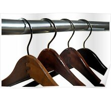 Wooden Hangers Poster