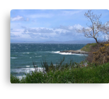 Whitecaps Canvas Print