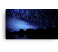 The Star Trail Experience - Dreamcatcher Canvas Print