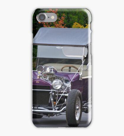 1927 Ford 'Purple Rain' Roadster iPhone Case/Skin