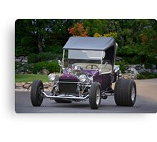 1927 Ford 'Purple Rain' Roadster Canvas Print