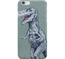 hungry rex iPhone Case/Skin