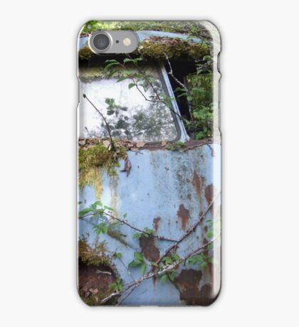 Rusty old car iPhone Case/Skin