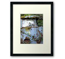 Rusty old car Framed Print