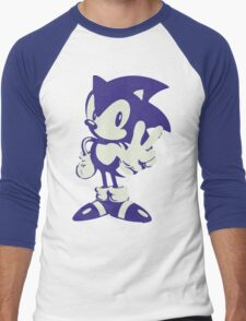 Minimalist Sonic Men's Baseball ¾ T-Shirt