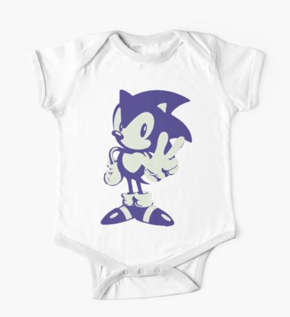 Minimalist Sonic One Piece - Short Sleeve