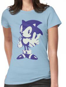 Minimalist Sonic Womens Fitted T-Shirt