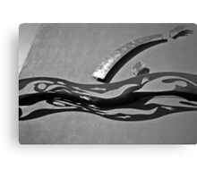 Metal Sculpture Canvas Print