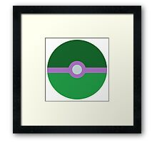She-Hulk Ball Framed Print