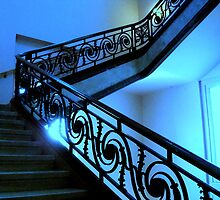 Blue Staircase  ^ by ctheworld
