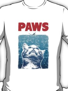 Cat meow paws jaws  T-Shirt