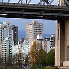 Under the Burrard Bridge.. by RichImage