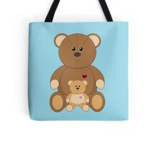 TWO TEDDY BEARS #2 Tote Bag