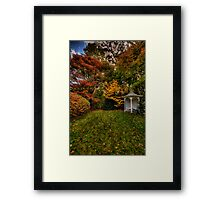 A Quiet Corner - Mount Wilson, Blue Mountains Sydney - The HDR Experience Framed Print