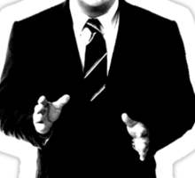 Jack Donaghy is bored now. Sticker