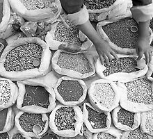 Seeds at Taunggyi markets by RobAllsop