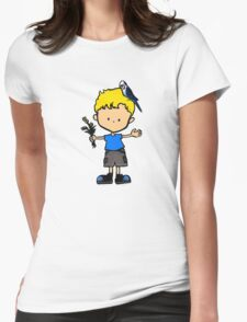 Budgie Boy Z Womens Fitted T-Shirt