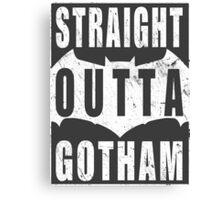 Straight Outta Gotham Canvas Print