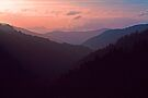 SUNSET,MORTON OVERLOOK by Chuck Wickham