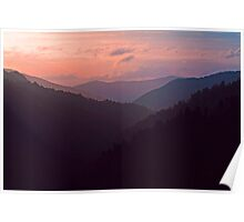 SUNSET,MORTON OVERLOOK Poster