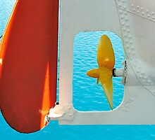 Ship Rudder and Propellor by AlainKhouri