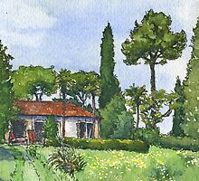 Spring in the Italian Countryside by MarionYounan