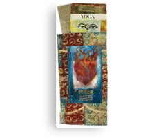 Yoga Sacred Canvas Print