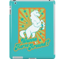 Just Horsing Around iPad Case/Skin