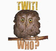 Twit! Who? Kids Clothes