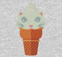 Strawberry-Mint Cat Kids Clothes