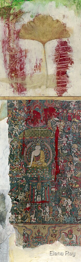 Medicine Buddha by Elena Ray