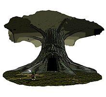 The Legend of Zelda - Great Deku Tree by red-leaf
