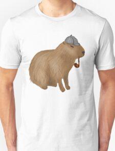 Sherlock capybara Unisex T-Shirt