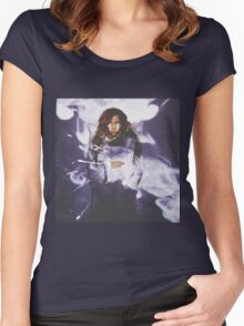 TINASHE Women's Fitted Scoop T-Shirt