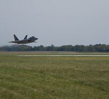 F22 Ground Effect by stephanieunton