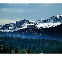 Strathcona Park Mountains Photographic Print
