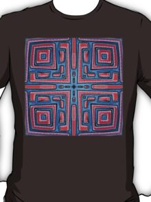 Maze Mandala by Mark Bray T-Shirt