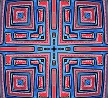 Maze Mandala by Mark Bray by Crystaleyezed