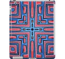 Maze Mandala by Mark Bray iPad Case/Skin