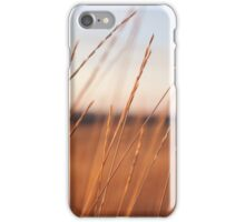Scenic Photo of Wheat Field iPhone Case/Skin