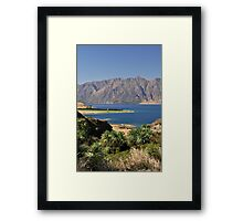 Picturesque New Zealand Framed Print