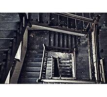 Downward Spiral Photographic Print