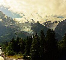 Mont Blanc by heinrich